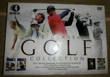 The Classic Golf Collection 4 DVD Box Set Brand New And Factory Sealed