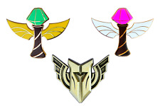 League of Legends Ward Pins AND Champion Mastery Pin Set - Skin Diamond LOL