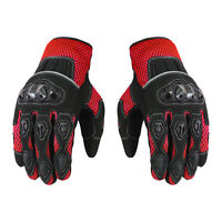 Motorcycle Motocross Racing Scooter Summer Gloves Knuckle Protection Armoured