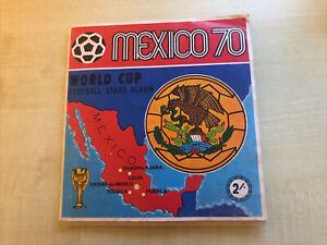 Panini mexico 70 Album, Used