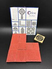 Lot of Celtic Theme Rubber Stamps, Various Designs (RF604-15)