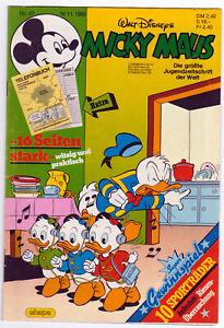 MICKY MAUS HEFT 47 JAHRGANG 1985  Disney, Ehapa, Egmont