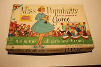 Vintage Miss Popularity Board Game