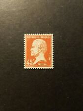 FRANCE TIMBRE TYPE PASTEUR N°175 NEUF ** LUXE MNH 1923