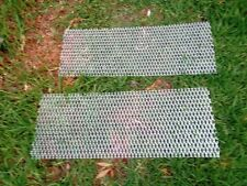 Aluminium expanding MESH  800mm x 250mm *** 2 pieces*** 32x 14mm rised lipped