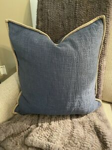 Pottery Barn Basketweave Pillow Covers set of 2