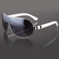Khan Large Aviator Sunglasses Smoke Lens Men's Metal Frame Vintage Frame Retro