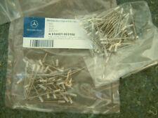 MERCEDES BENZ 910001003100 Upper Molding Rivet (Quantity 5)