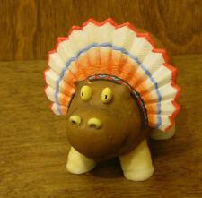 Home Grown Figurine #4017531 POTATO HIPPO INDIAN Enesco, New/Box Thanksgiving