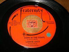 LONNIE MACK - DOWN IN THE DUMPS - MEMPHIS     / LISTEN - ROCK POPCORN