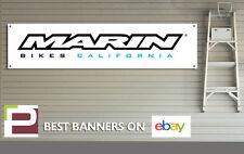 Marin Bikes Banner PVC Sign for workshop, garage, Man cave, Mountain Bike banner