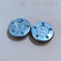 2PCS 5g Silver Dog Putter Weight for Titleist Scotty Cameron Putters