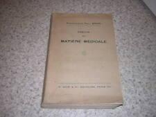 1936.précis de matière médicale / Paul Brun.plantes pharmacie médecine