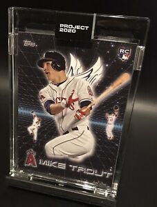 """2020 Topps Mike Trout """"Project 2020"""" - Artist: Don C! Card #247! Awesome Design!"""