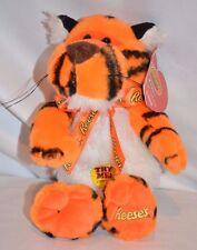 "Hershey Stuffed Animal Plush Reese's Cup Tiger Cheer 11"" Orange Collector Bear"