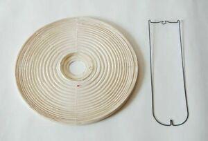 Isamu Noguchi Akari 45A Exchange Shade Metal Frame Lamp Light Authentic Japan
