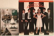 DEBBIE HARRY Lot of 2 FACE IT(Signed Copy) & BLONDIE Parallel Lines MFSL inserts
