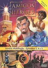 Friends and Heroes (Amigos y Héroes)(w/Spanish pkg) Multi-Language DVD Ep 3-5