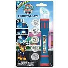 Paw Patrol Project-a-Lite Projector Flashlight with 6 Character Discs ORIGINAL