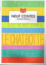 Neuf Contes * Charles PERRAULT  merveilleux Traditionnels scéren peau d'âne