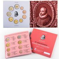 [CF9148] España 2016, Set Euros 2016. IV Cent. Miguel de Cervantes (FDC)