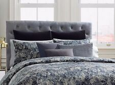 Kenneth Cole Reaction Home Moon Mist 1 King Pillow Sham Navy Blue
