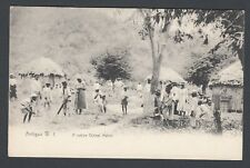 More details for printed postcard antigua west indies a native cricket match sport team game pc