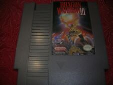 Dragon Warrior III - Nintendo NES Game Cart Only -Cleaned & Tested