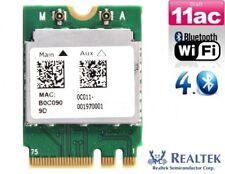 + Realtek RTL8821AE Dual Band 433Mbit/s AC WIFI Card Bluetooth PCIe M.2 NGFF +