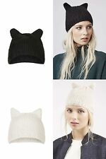 Topshop Acrylic Beanie Hats for Women