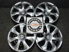 "2017 Mazda 5 16"" Factory OE OEM Steel Wheels Hub Caps Wheel Covers Mazda 3 or 6"
