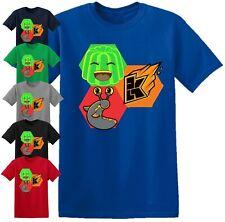 Jelly Slogoman Kwebbelkop T Shirt Gamer vlogging Youtuber Birthday Gift Kids