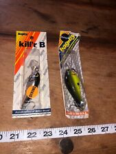 Bagleys Killer B 2 Diving B 2Vintage Lure Nip Nos
