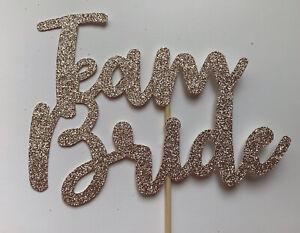 Team Bride Cake Topper