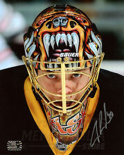 Tuukka Rask Boston Bruins Signed Autographed Up Close Mask 8x10