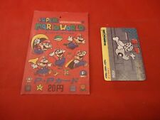 Super Mario World (Mario Bros. 4) SFC SNES Promo Japanese Trading Card w/ Pouch