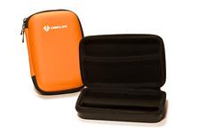 Custodia rigida arancione della Fotocamera Borsa Per Panasonic Lumix DMC-3D1 DMC-FT5 DMC-TZ40 DMC-TZ5