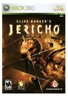 Clive Barker's Jericho Xbox 360 Game Disc Only 35z Horror Scary