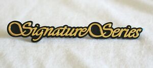 """1998 - 2002 LINCOLN TOWN CAR """"SIGNATURE SERIES"""" 24K GOLD PLATED SIDE EMBLEM NAME"""