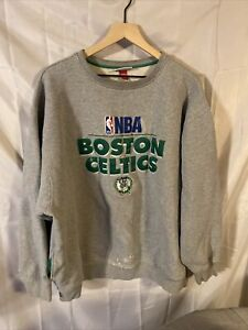 Boston Celtics Mitchell & Ness Hardwood Classics Sweatshirt 3XL With Defects