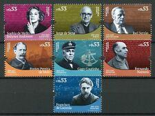 Portugal 2019 MNH Portuguese Historical Figures 7v Set Famous People Stamps