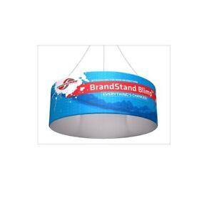 "Brandstand BLIMP-H-BT10 10ft DIA.x 24"" Blimp Tube Hanging Trade Show Banner"