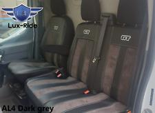 Ford Transit 1+1 2014 en adelante Eco Cuero Y Alicante frente Universal Fundas