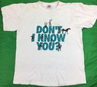VTG Nike Distressed Bo Jackson Dont I Know You Have We Meet T-Shirt Men's SZ XL