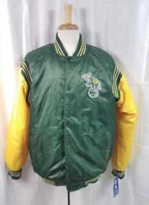 Rare STARTER MLB Oakland A's Athletics Satin Jacket Size XL BNWT