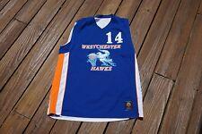 Westchester Hawks #14 Men Xl Reversible Jersey by The Rock