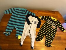 Lot Of 3 0-3 Months Boy Clothes Fall/winter Carters Children's Place