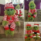 Grinch Dolls Cute Christmas Stuffed Plush Toy  Xmas Gifts for Kids Home Decor