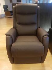 TV Ruhe- Sessel Hukla 2 E-Motore und Aufstehhilfe LEDER am LAGER