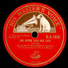 ELISABETH SCHUMANN -SOPRAN- Haydn: She never told her love/Sailor.. 78rpm S8885
